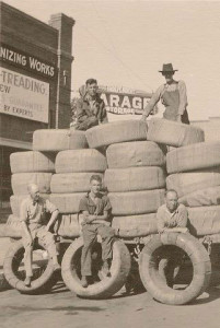 Lalanne's original tire store